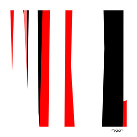red black gray white abstract 2