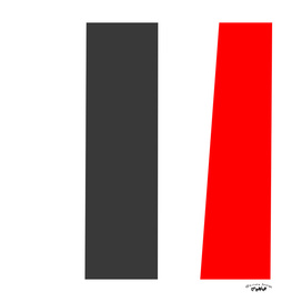 red gray and white abstract