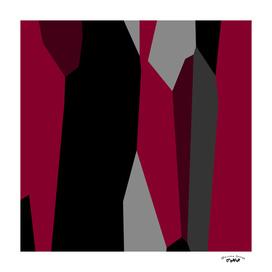 shades of pink gray and black abstract