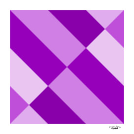 Angled Purple Abstract