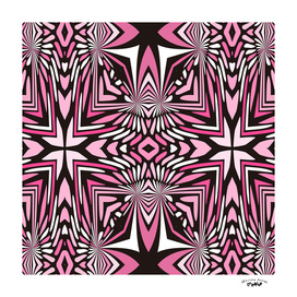pink black and white arrows