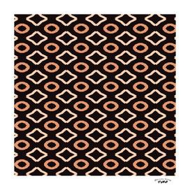 Brown and tan Geometric