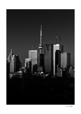 Toronto Skyline From Riverdale Park No 1