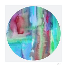 Curioos Exclusive Watercolour Abstract