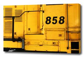 locomotive 858