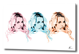Britney Spears | 3 | Pop Art