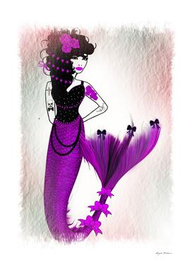 Monique Mermaid in Purple