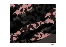 Vintage Pink and Black Camo
