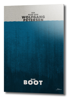 DAS BOOT / alternative typographic movie poster