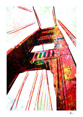 Golden Gate Bridge | Pop Art