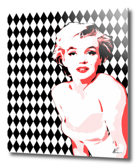 Marilyn Monroe | Diamonds | Pop Art