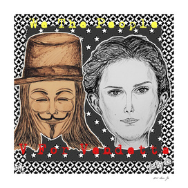 (V For Vendetta - We The People) - yks by ofs珊