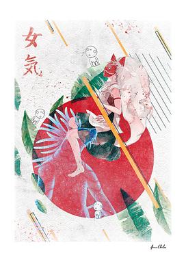 Mononoke Hime Print