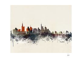 frankfurt city skyline