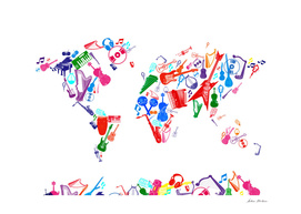 world map music instruments 5