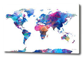 world map watercolor 2