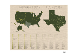 US National Parks - Texas