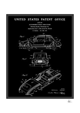 Automobile Body Patent - Black