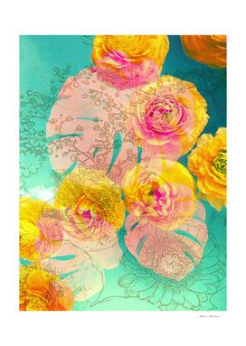 Blossoms Multicolor