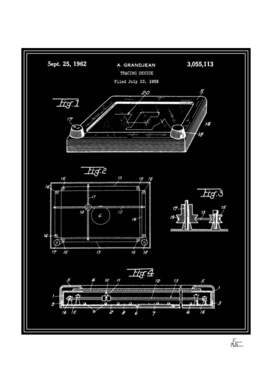 Tracing Device Patent - Black