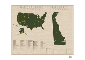 US National Parks - Delaware