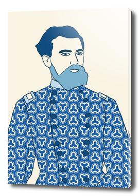SOLDIER BLUE PATTERN