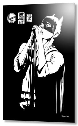 Post-Punk Dark Knight | The Shadowplay B&W Edition