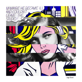 Roy Lichtenstein's M-Maybe & Lauren Bacall
