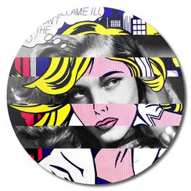 Roy Lichtenstein's M-Maybe & Lauren Bacall