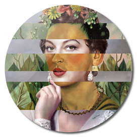 Frida's Self Portrait with Hand Earrings & Ava Gardner