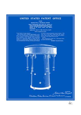 Milkshake Machine Patent - Blueprint