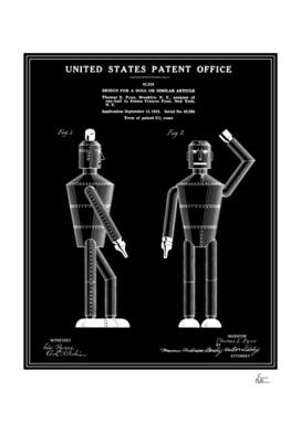 Robot Patent - Black