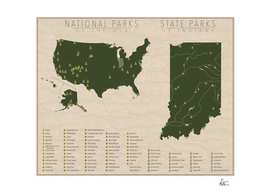 US National Parks - Indiana