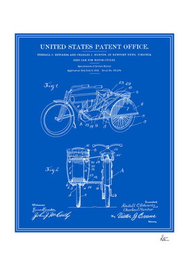 Motorcycle Sidecar Patent v2 - Blueprint