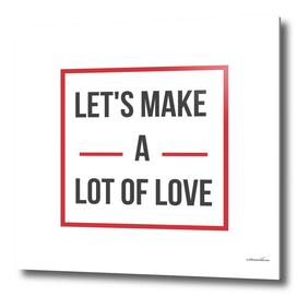 let's make