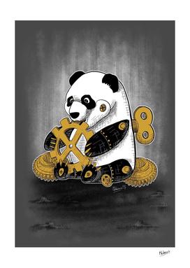 Little mechanical panda