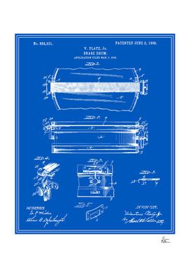 Snare Drum Patent - Blueprint