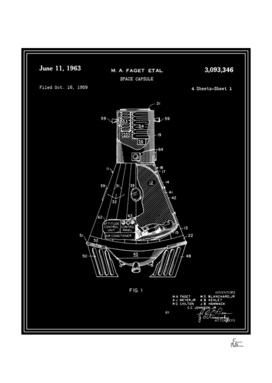 Space Capsule Patent v1 - Black