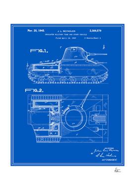 Tank Patent - Blueprint