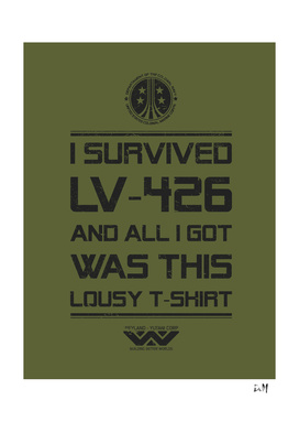 I survivied LV-426