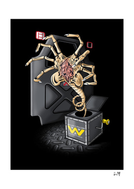 Facehugger in the box