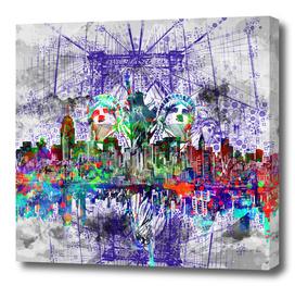 new york city skyline 2