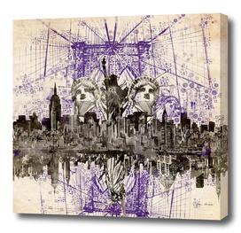 new york city skyline 4