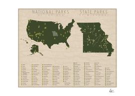 US National Parks - Missouri