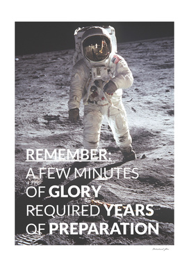 Motivational - Prepare For Glory (Moon Landing)