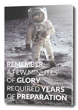 Motivational - Prepare For Glory (Moon Landing)