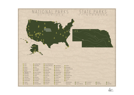 US National Parks - Nebraska