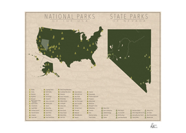 US National Parks - Nevada