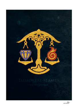 Ul'dha Flag - The Immortal Flames ( FFXIV)