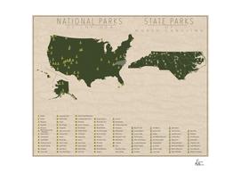 US National Parks - North Carolina